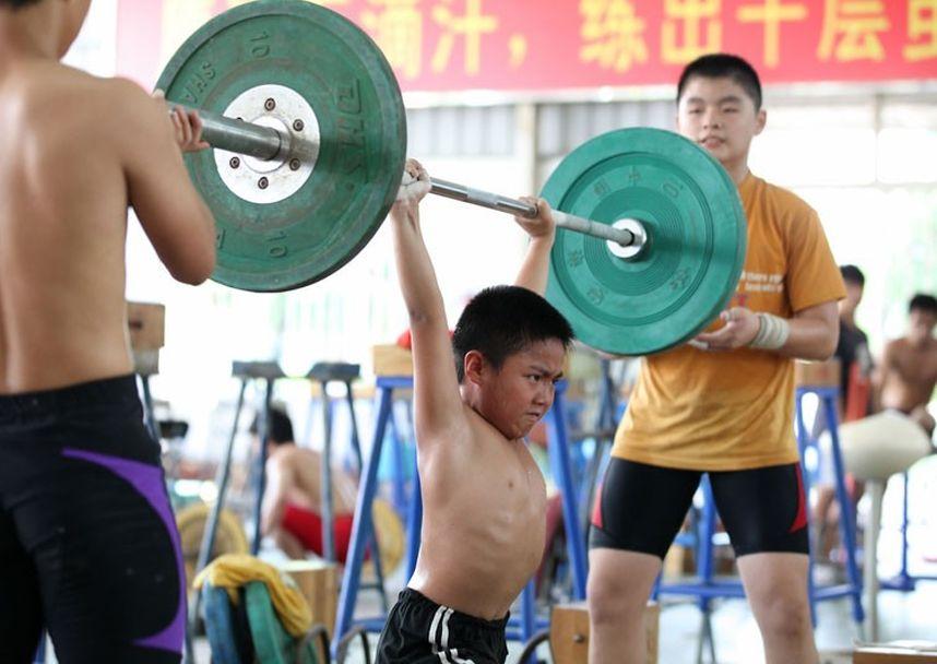 training05 Подготовка будущих олимпийцев в Китае