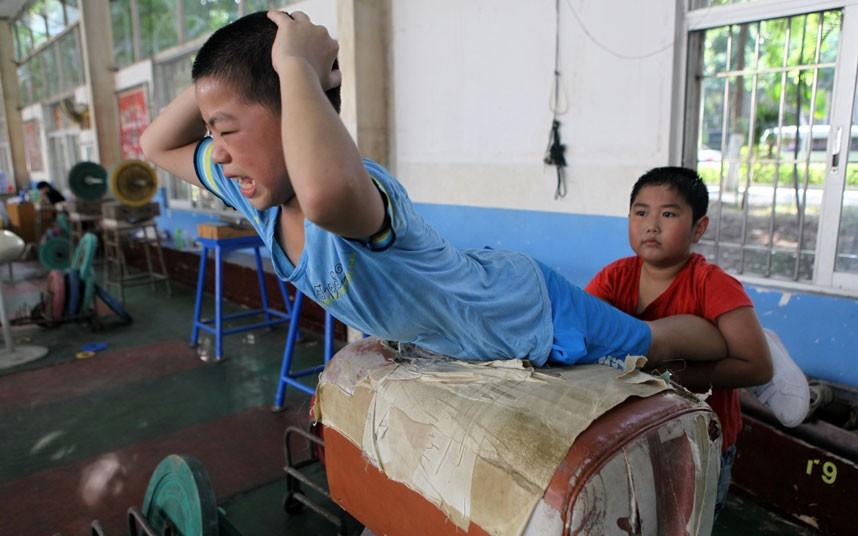 training06 Подготовка будущих олимпийцев в Китае