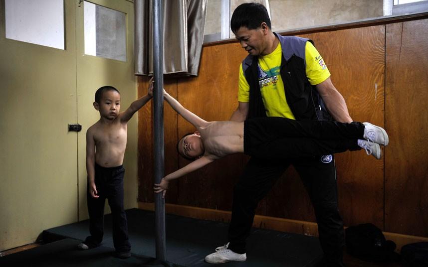 training08 Подготовка будущих олимпийцев в Китае