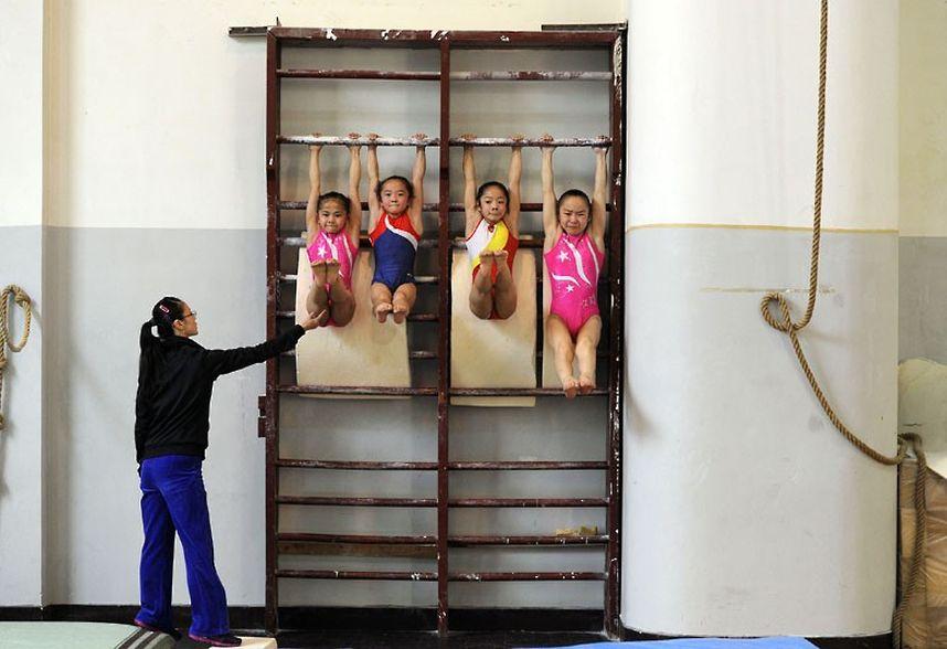 training09 Подготовка будущих олимпийцев в Китае