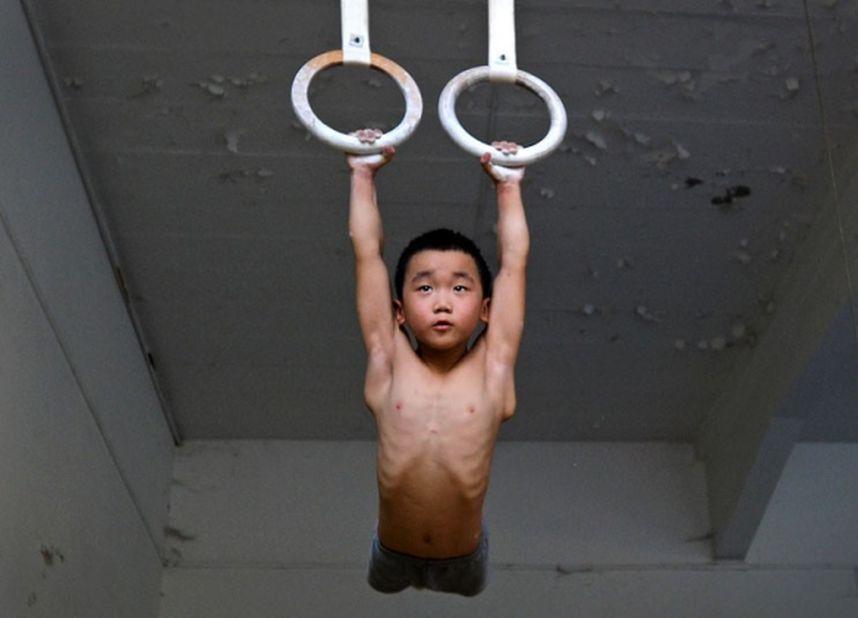 training11 Подготовка будущих олимпийцев в Китае