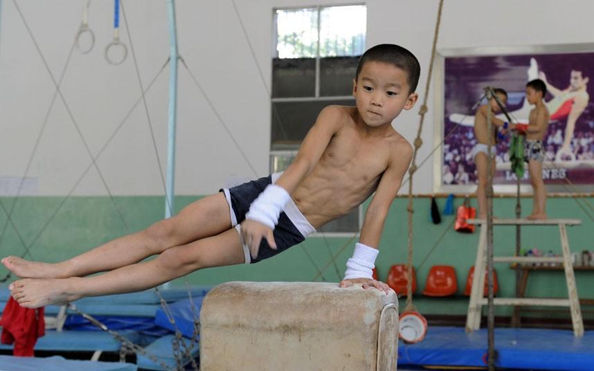 training12 Подготовка будущих олимпийцев в Китае