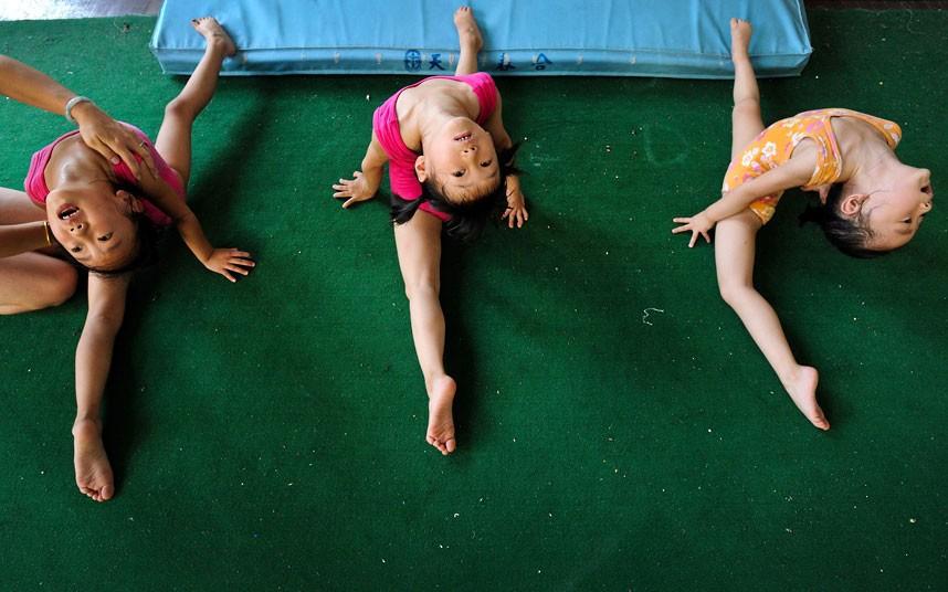 training13 Подготовка будущих олимпийцев в Китае