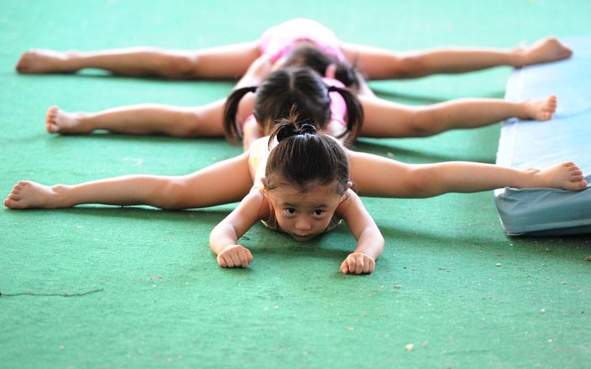 training14 Подготовка будущих олимпийцев в Китае