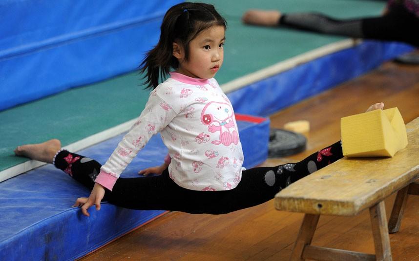 training15 Подготовка будущих олимпийцев в Китае