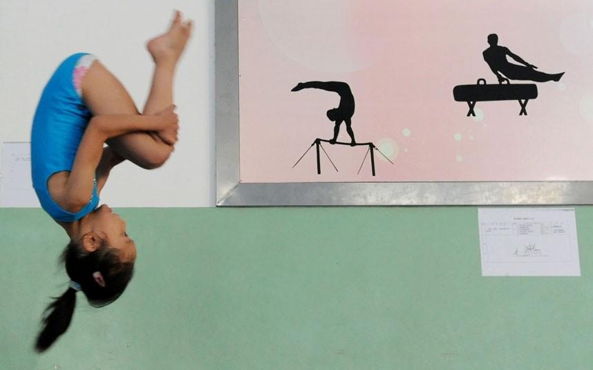 training17 Подготовка будущих олимпийцев в Китае
