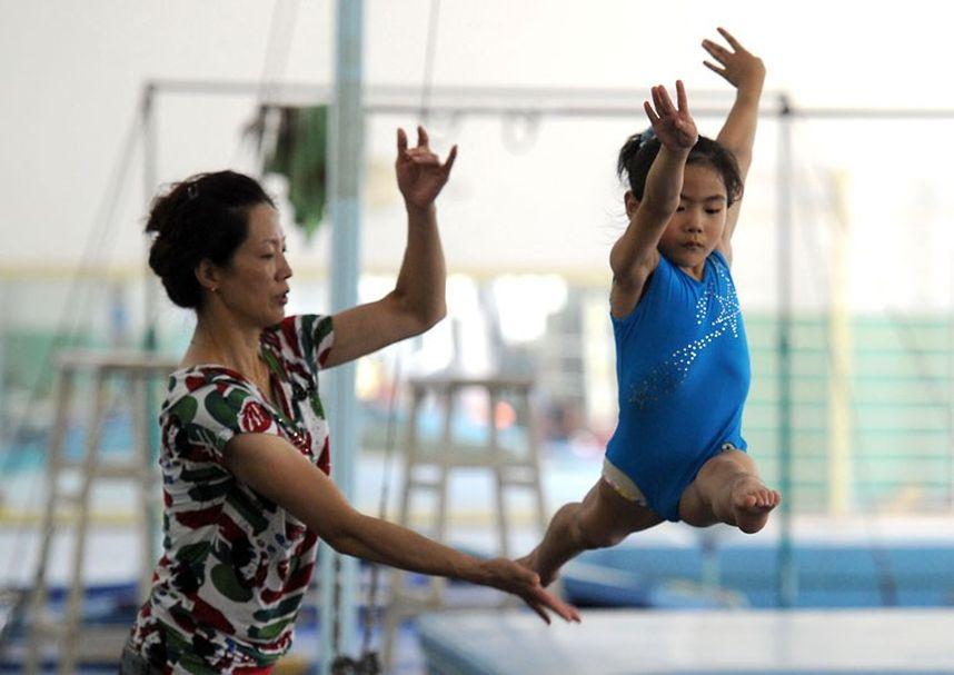 training18 Подготовка будущих олимпийцев в Китае