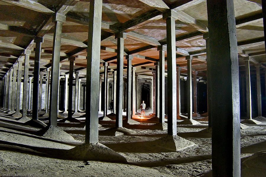 underground 1 Подземные водохранилища вцентре Киева