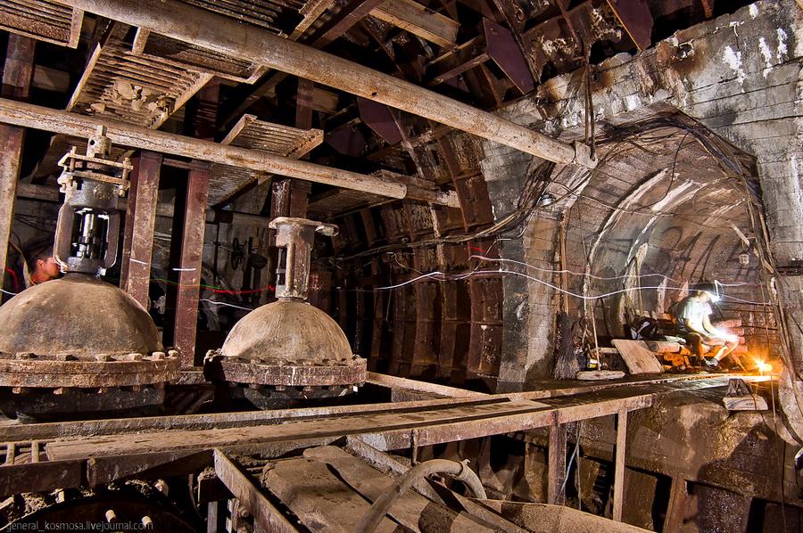 underground 11 Подземные водохранилища вцентре Киева