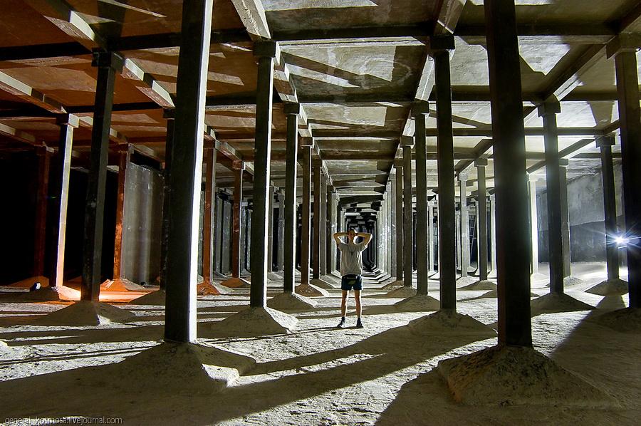 underground 8 Подземные водохранилища вцентре Киева