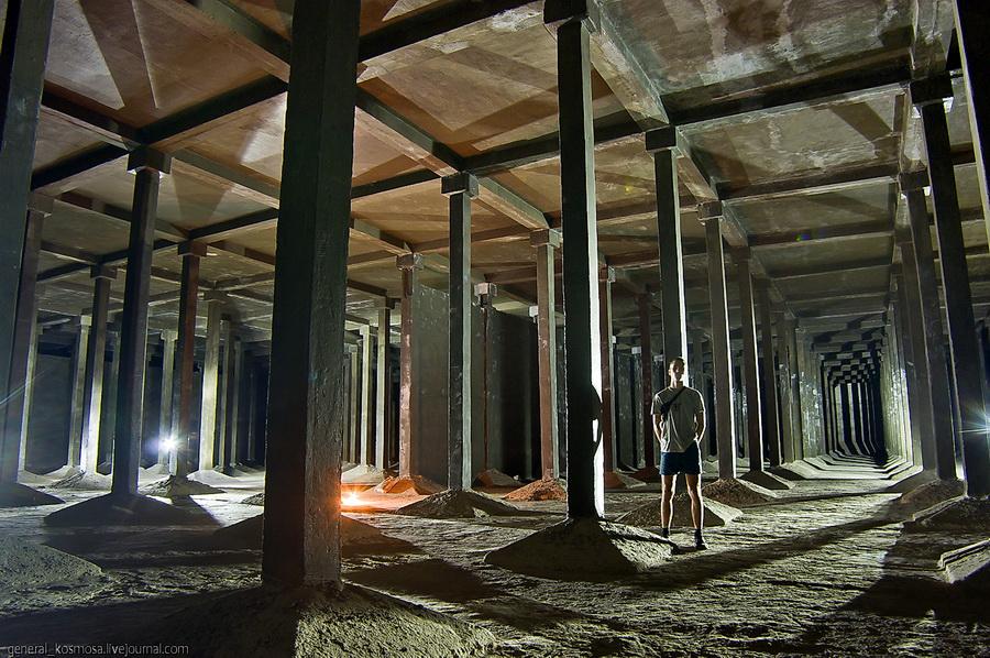 underground 9 Подземные водохранилища вцентре Киева