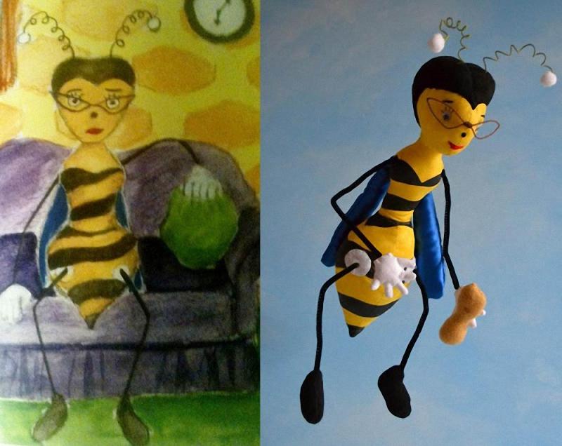 052 Игрушки, сшитые по рисункам детей