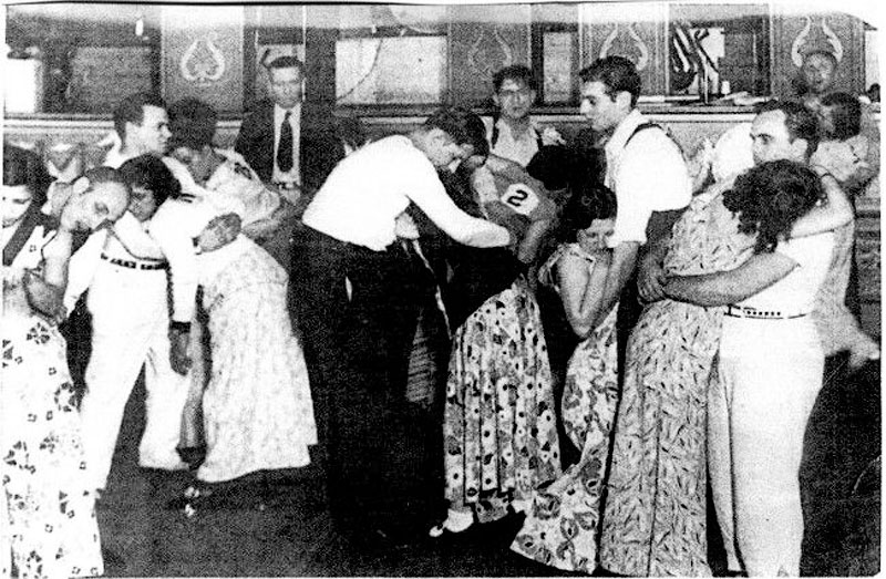 2481 Танцы до упаду на танцевальных марафонах 1920 30 х годов