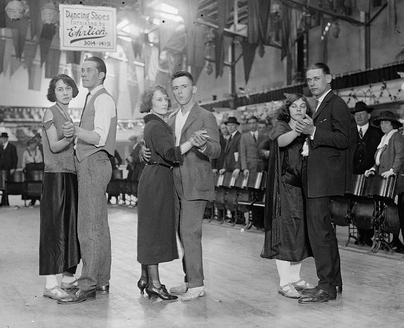 5221 Танцы до упаду на танцевальных марафонах 1920 30 х годов