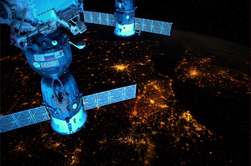 Amazing Space Photography 11 800x530 Космос от голландского астронавта Андре Киперса