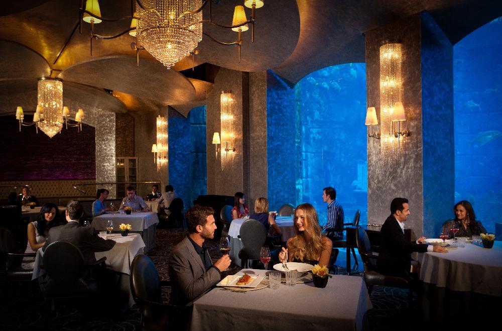 Фото шикарных ресторанов в дубае