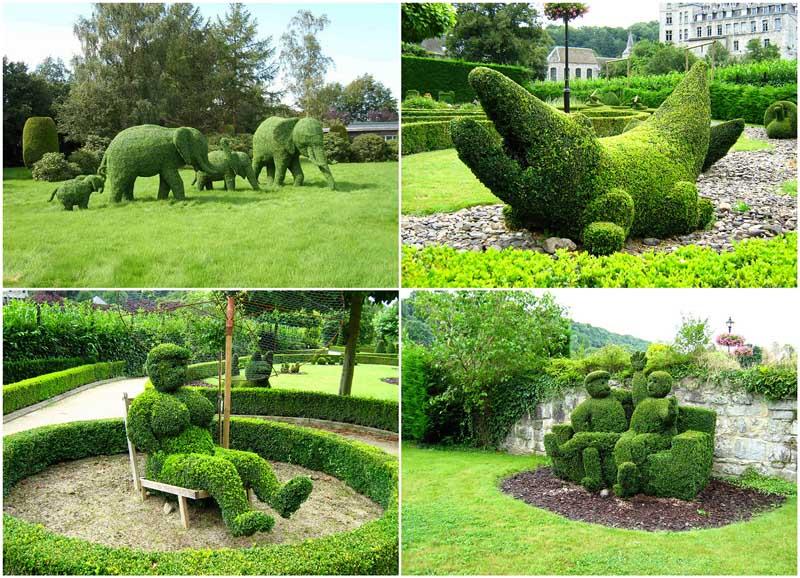 Топиари — зеленое искусство