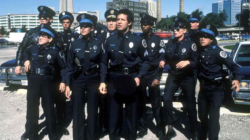 BIGPIC3 Полицейская академия, тогда и сейчас