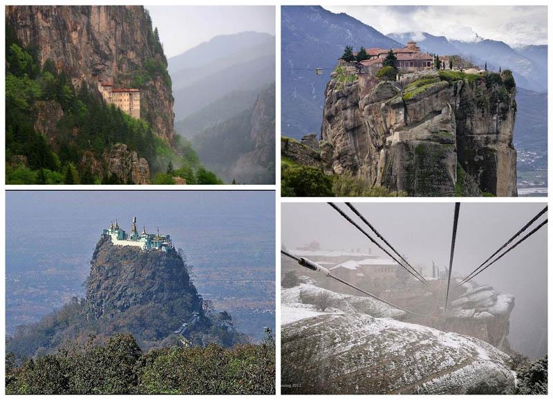 BIGPIC46 Самые труднодоступные монастыри в мире