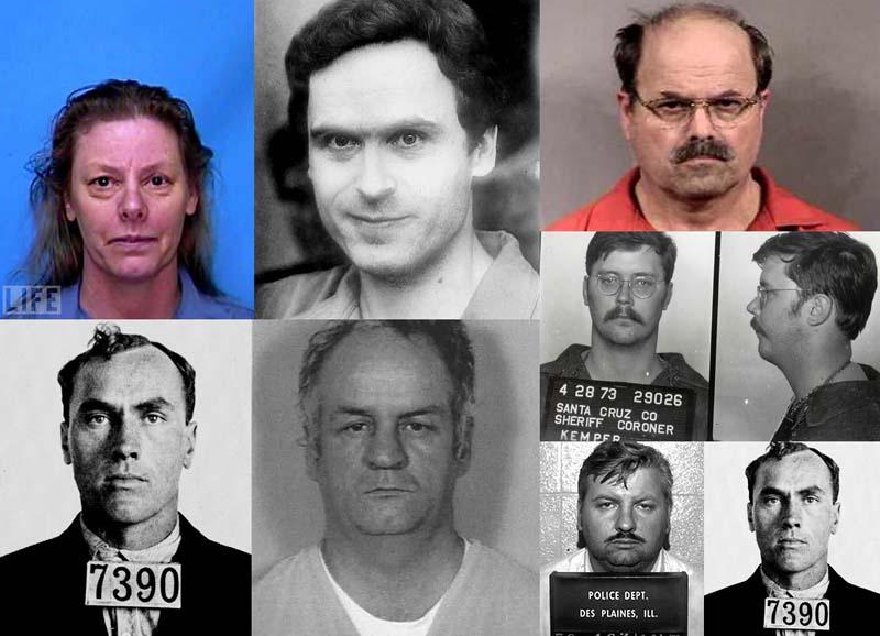 10 цитат известных серийных убийцСША