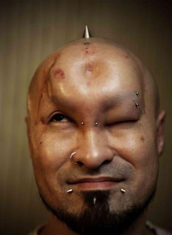 Bagel head 10 Бублик вместо лба