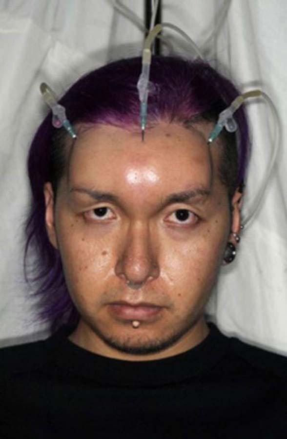 Bagel head 8 Бублик вместо лба