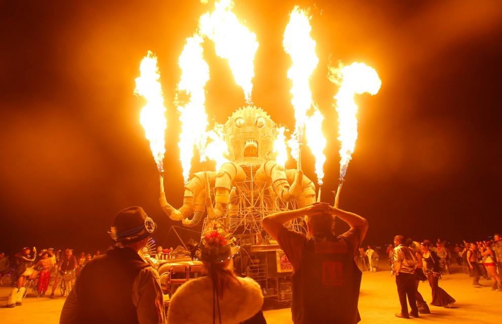 Burning Man 10 Фестиваль «Burning Man 2012»
