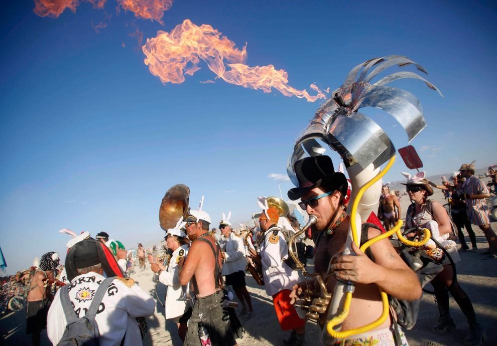 Burning Man 11 Фестиваль «Burning Man 2012»