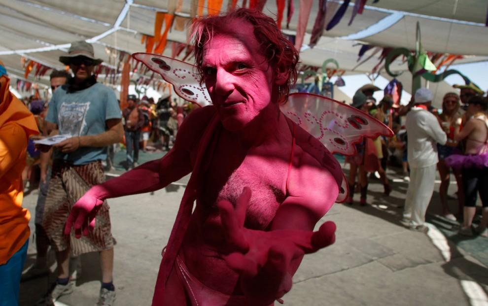 Burning Man 13 Фестиваль «Burning Man 2012»