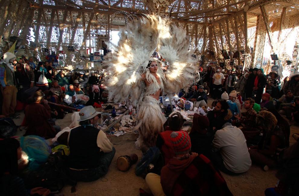 Burning Man 14 Фестиваль «Burning Man 2012»