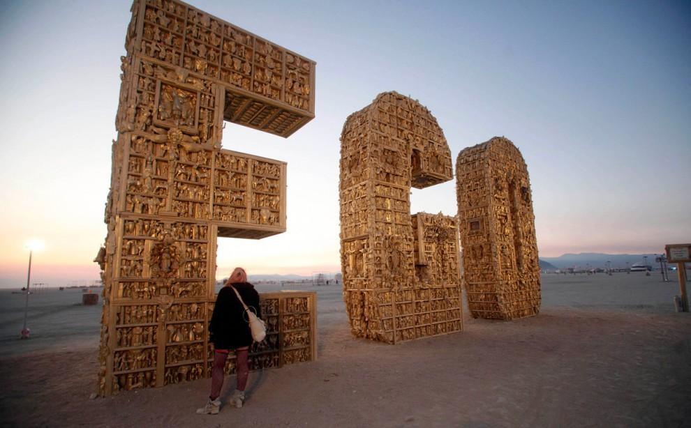 Burning Man 15 Фестиваль «Burning Man 2012»