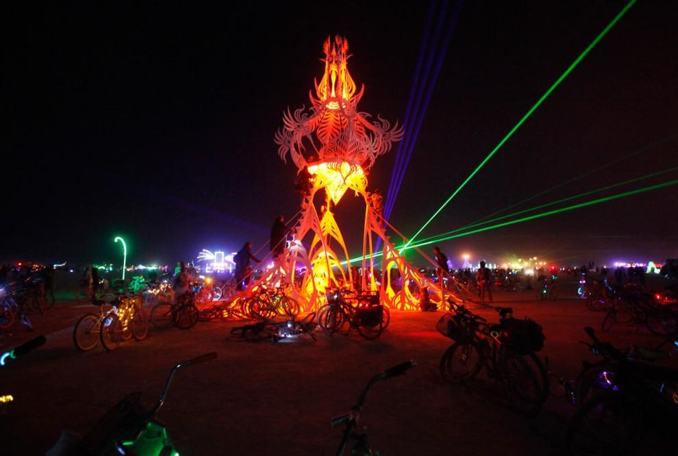 Burning Man 20 Фестиваль «Burning Man 2012»