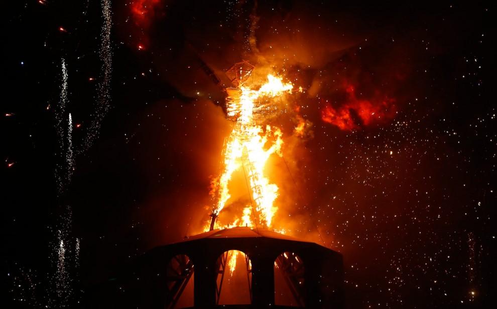 Burning Man 28 Фестиваль «Burning Man 2012»
