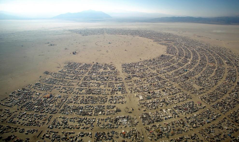 Burning Man 3 Фестиваль «Burning Man 2012»