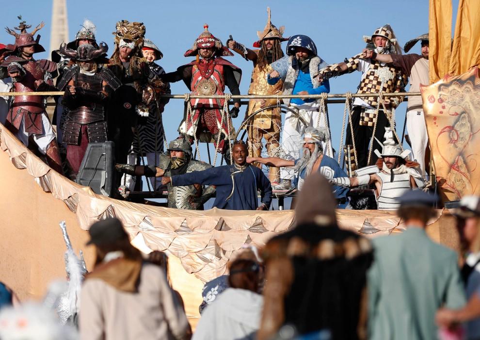 Burning Man 4 Фестиваль «Burning Man 2012»