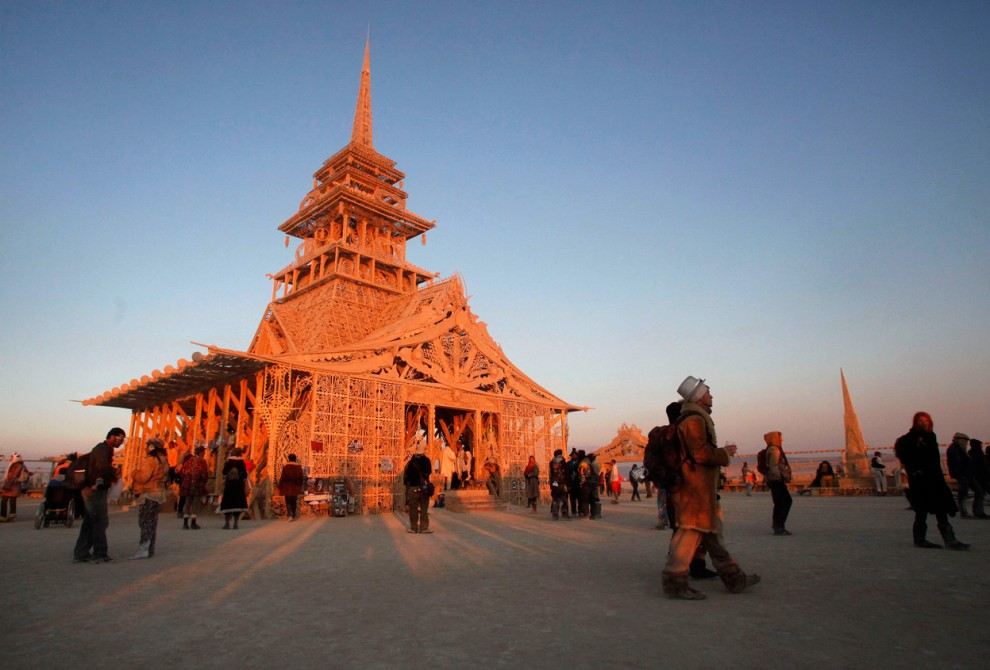 Burning Man 6 Фестиваль «Burning Man 2012»