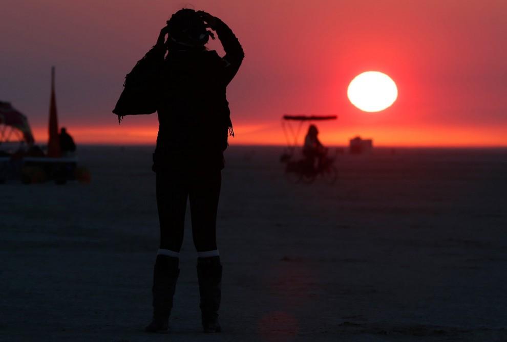 Burning Man 7 Фестиваль «Burning Man 2012»