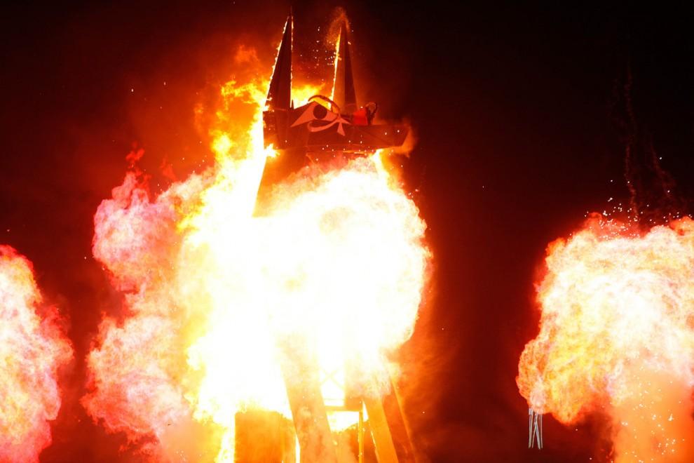 Burning Man 8 Фестиваль «Burning Man 2012»