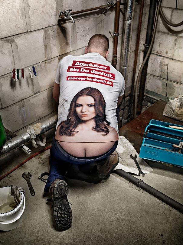 Creative T Shirts 12 Необычные футболки