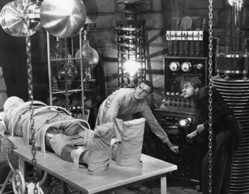 Frankenstein02 За кулисами классических фильмов о Франкенштейне