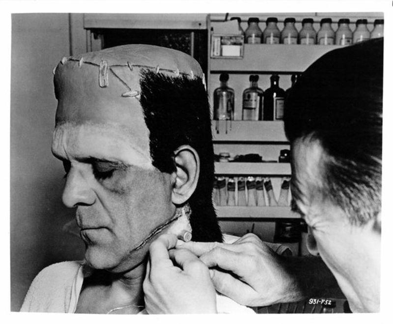 Frankenstein03 За кулисами классических фильмов о Франкенштейне