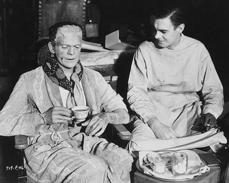 Frankenstein08 За кулисами классических фильмов о Франкенштейне
