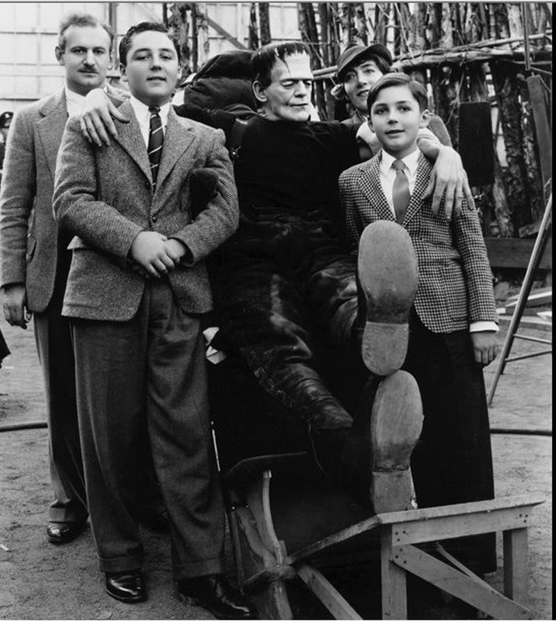Frankenstein33 За кулисами классических фильмов о Франкенштейне