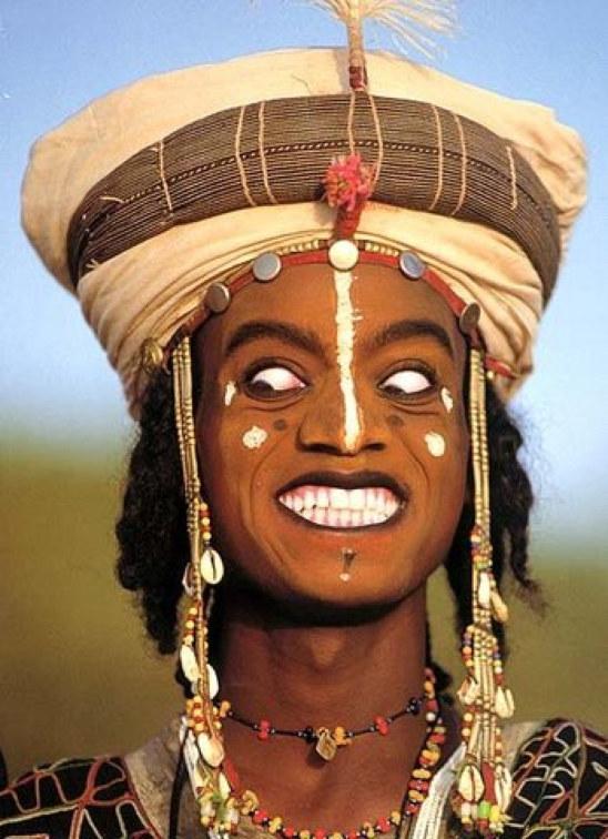 Fulani 1 Красота племени фульбе