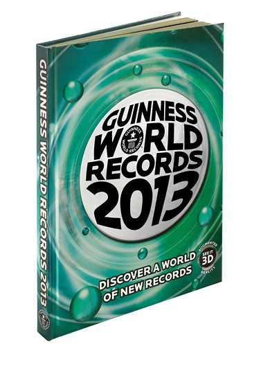 Guinness World Records 2013 16 Рекорды Гиннеса 2013