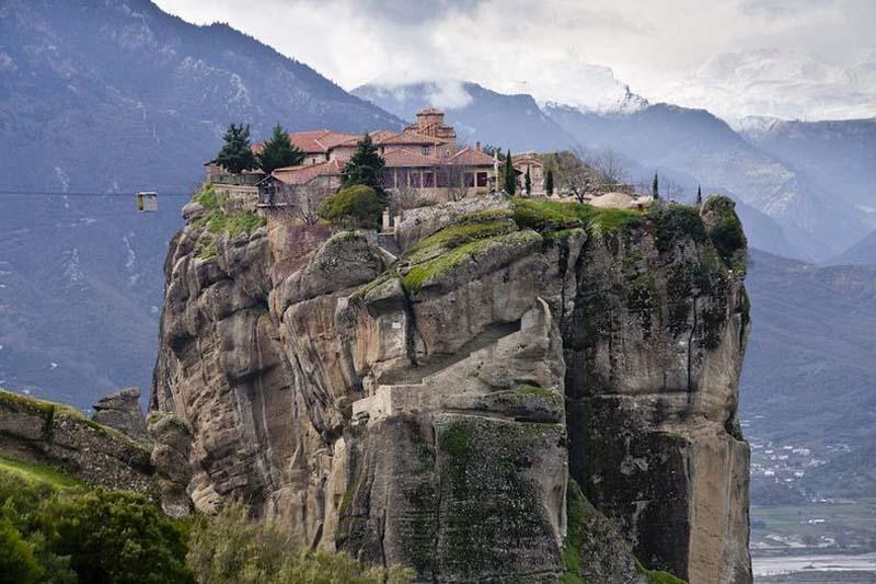 Inaccessible Monasteries 1 Самые труднодоступные монастыри в мире