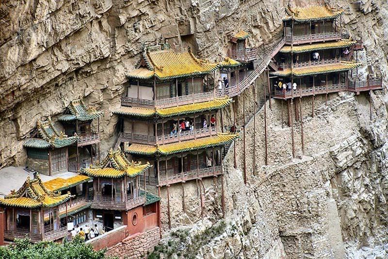 Inaccessible Monasteries 14 Самые труднодоступные монастыри в мире