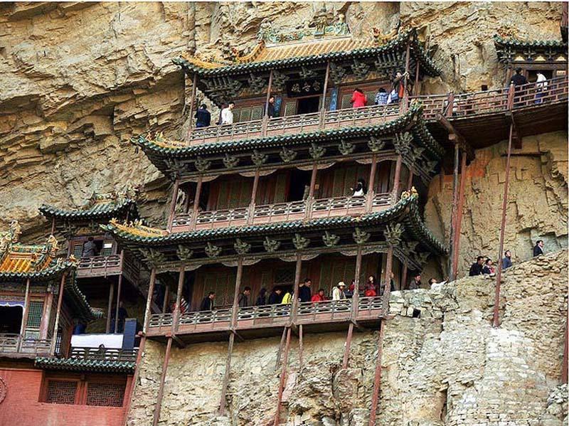 Inaccessible Monasteries 15 Самые труднодоступные монастыри в мире