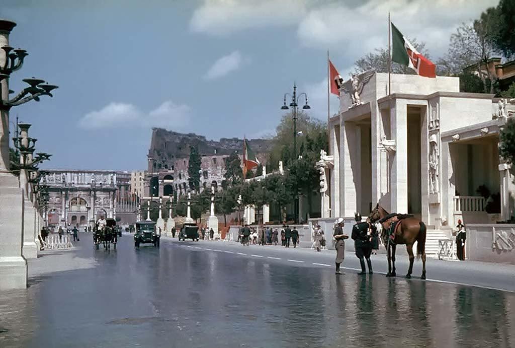 Italy 1 Италия 1938 г. на цветных фото