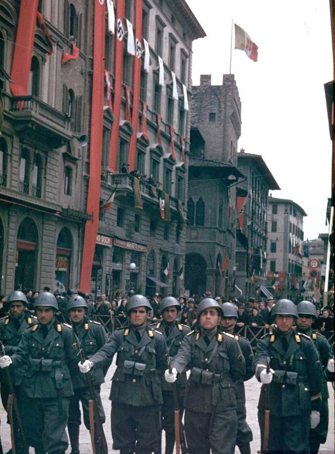 Italy 11 Италия 1938 г. на цветных фото
